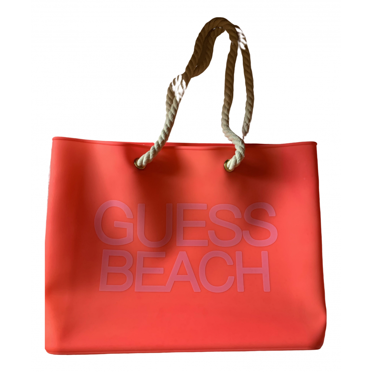 Guess \N Pink handbag for Women \N