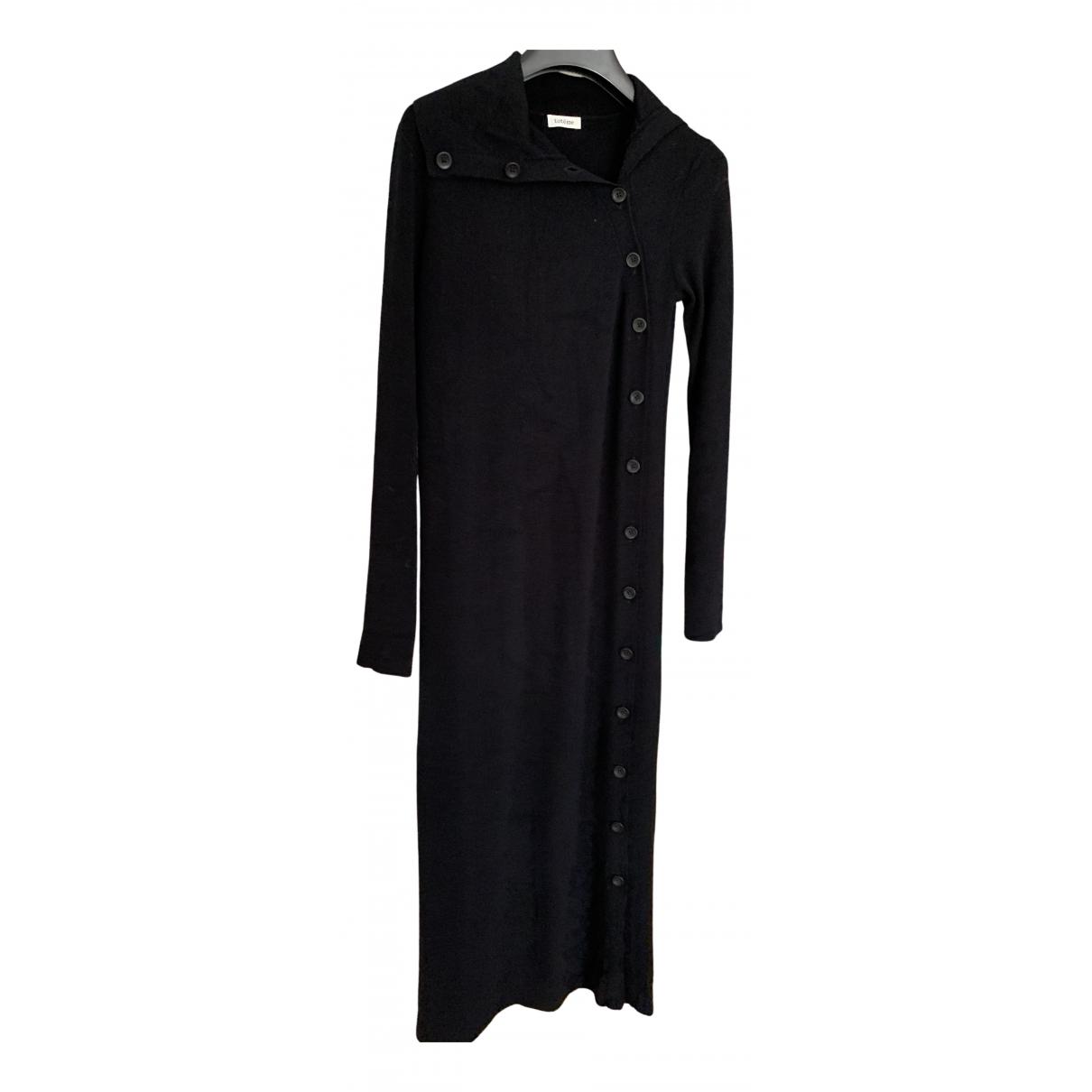 Toteme \N Kleid in  Schwarz Wolle