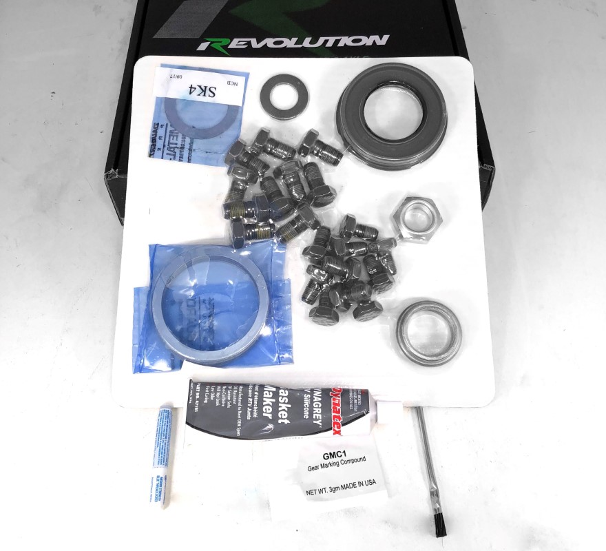 Revolution Gear and Axle 25-2056 Toy 8.4 Inch Mini Kit