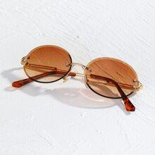 Gafas de sol sin montura de hombres