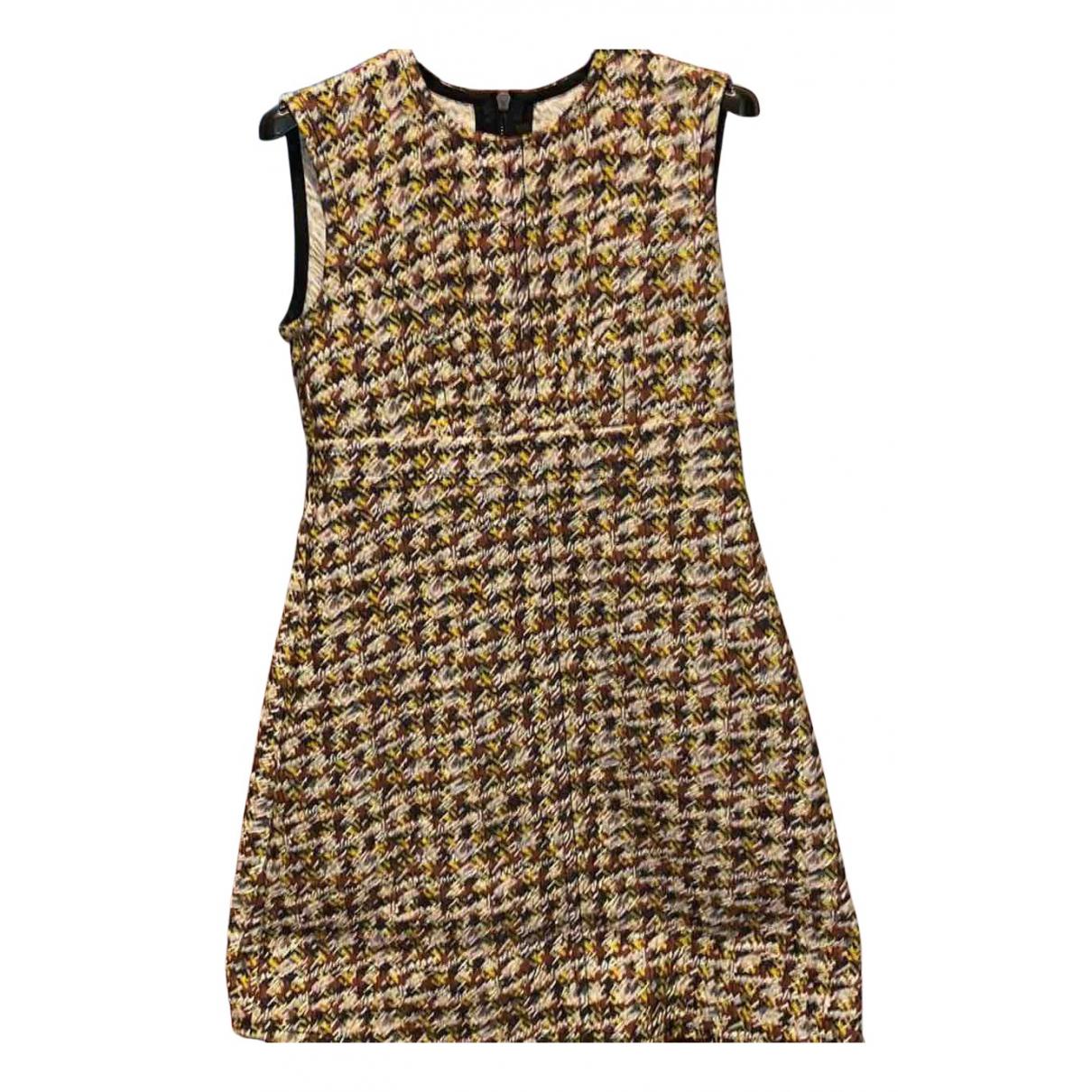 Louis Vuitton \N Kleid in  Bunt Wolle