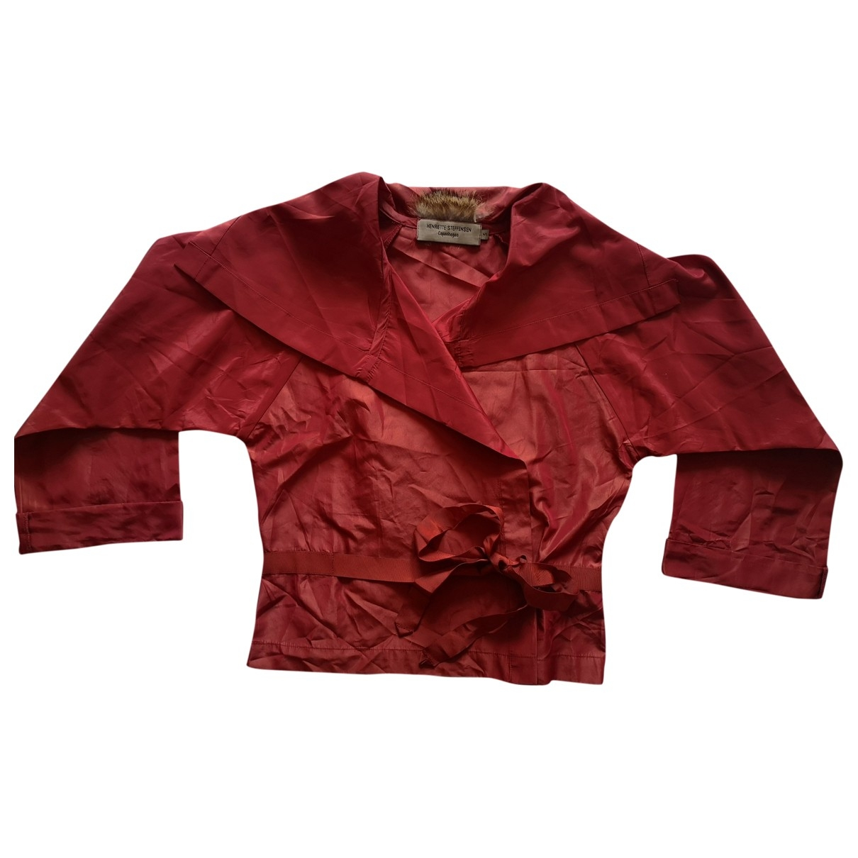 Non Signé / Unsigned \N Red jacket for Women S International