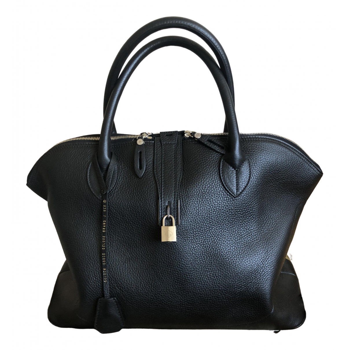 Golden Goose \N Black Leather handbag for Women \N