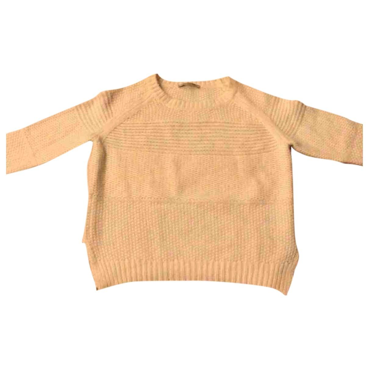 Gerard Darel - Pull   pour femme en laine - blanc