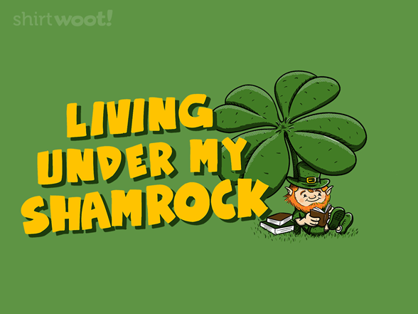 Under My Shamrock T Shirt