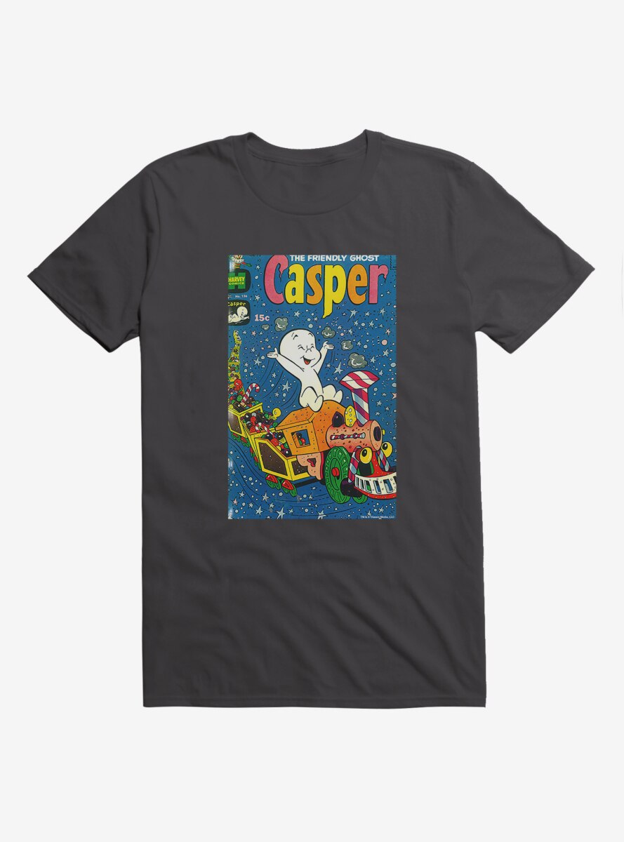 Casper The Friendly Ghost Christmas Comic Cover T-Shirt