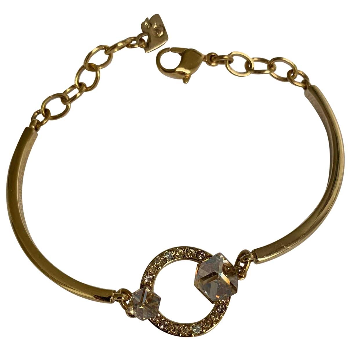 Swarovski \N Gold Metal bracelet for Women \N