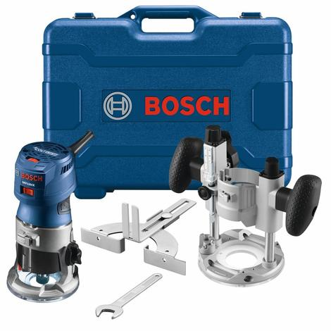 Bosch Colt 1.25 HP (Max) Variable-Speed Palm Router Combination Kit