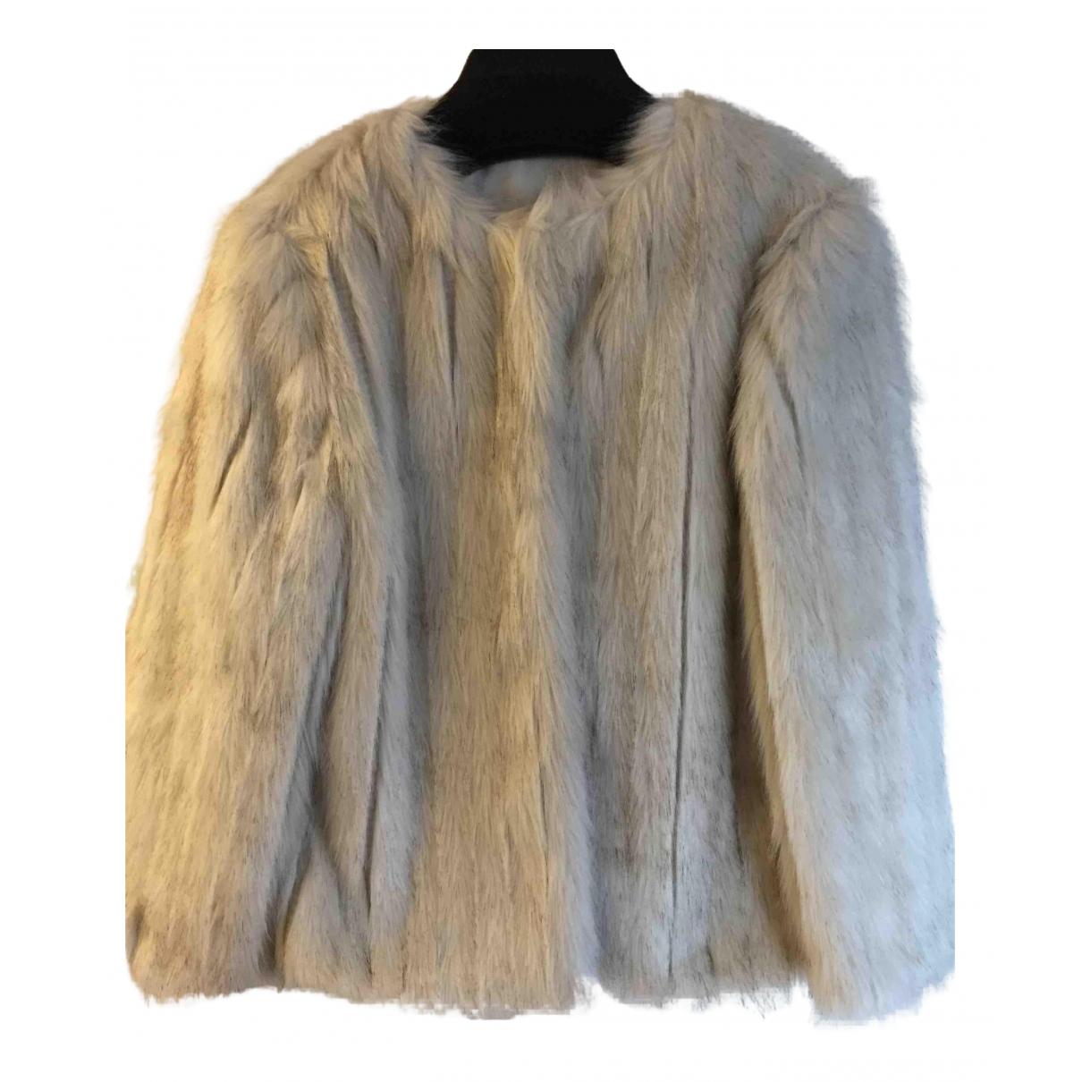 Ted Baker \N Ecru Faux fur coat for Women 1 0-5
