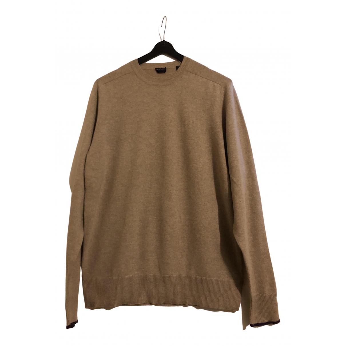 Paul Smith \N Pullover.Westen.Sweatshirts  in  Beige Wolle