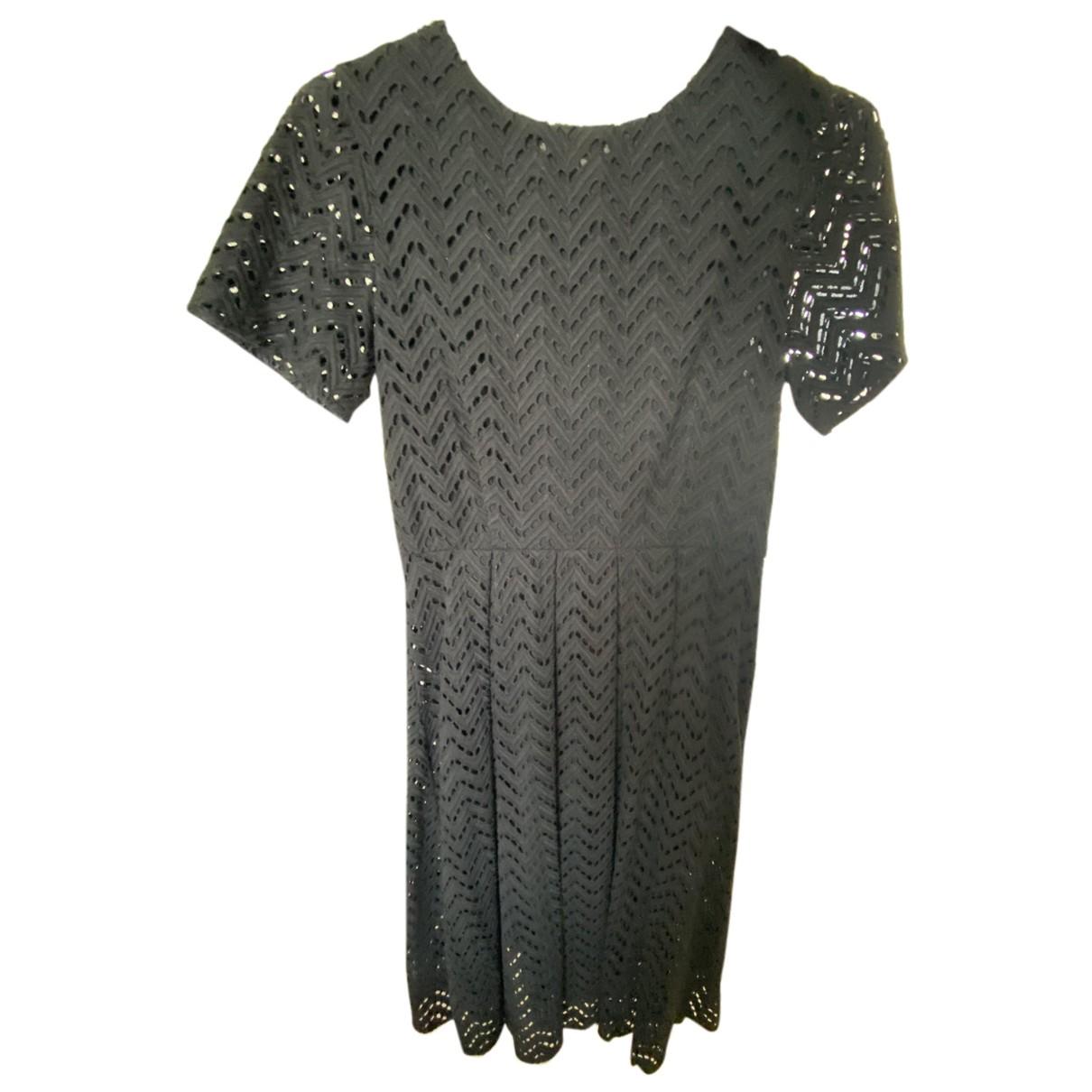 Ymc \N Kleid in  Schwarz Baumwolle