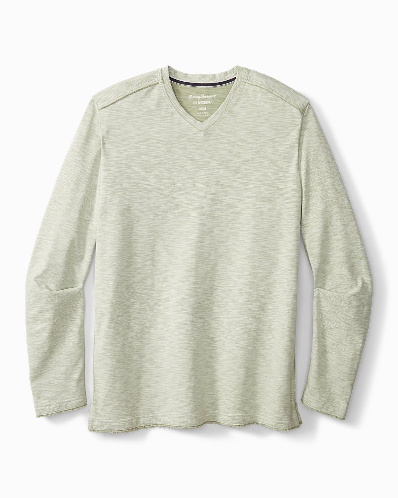 Big & Tall Fray Day Harbor IslandZone® V-Neck Shirt