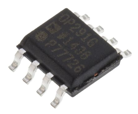 Analog Devices OP291GSZ , Op Amp, RRIO, 3MHz, 3 → 9 V, 8-Pin SOIC