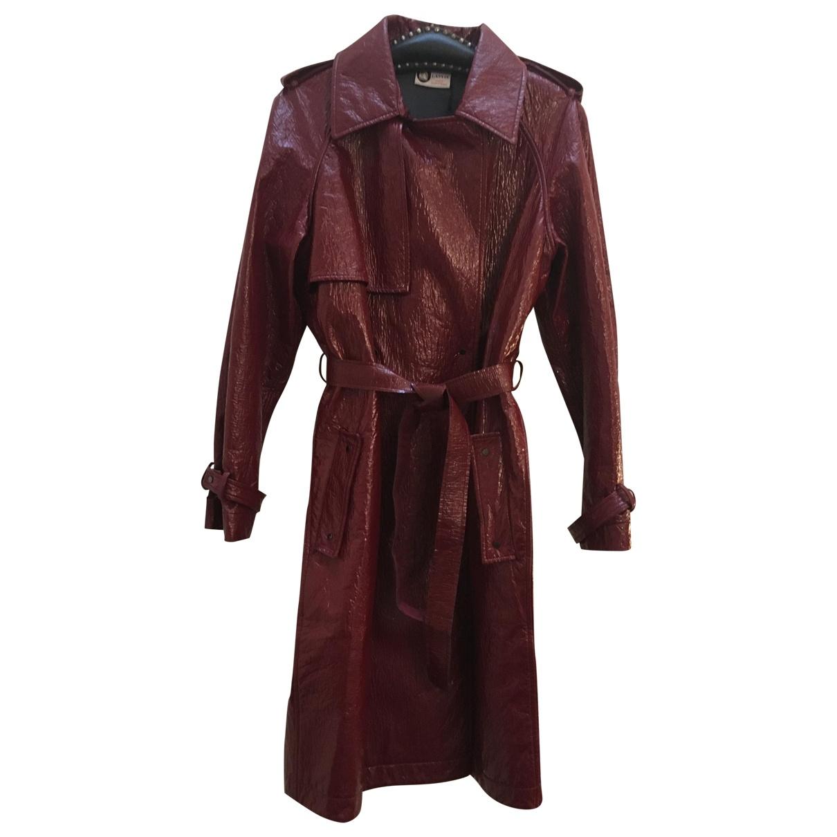 Lanvin - Manteau   pour femme - bordeaux