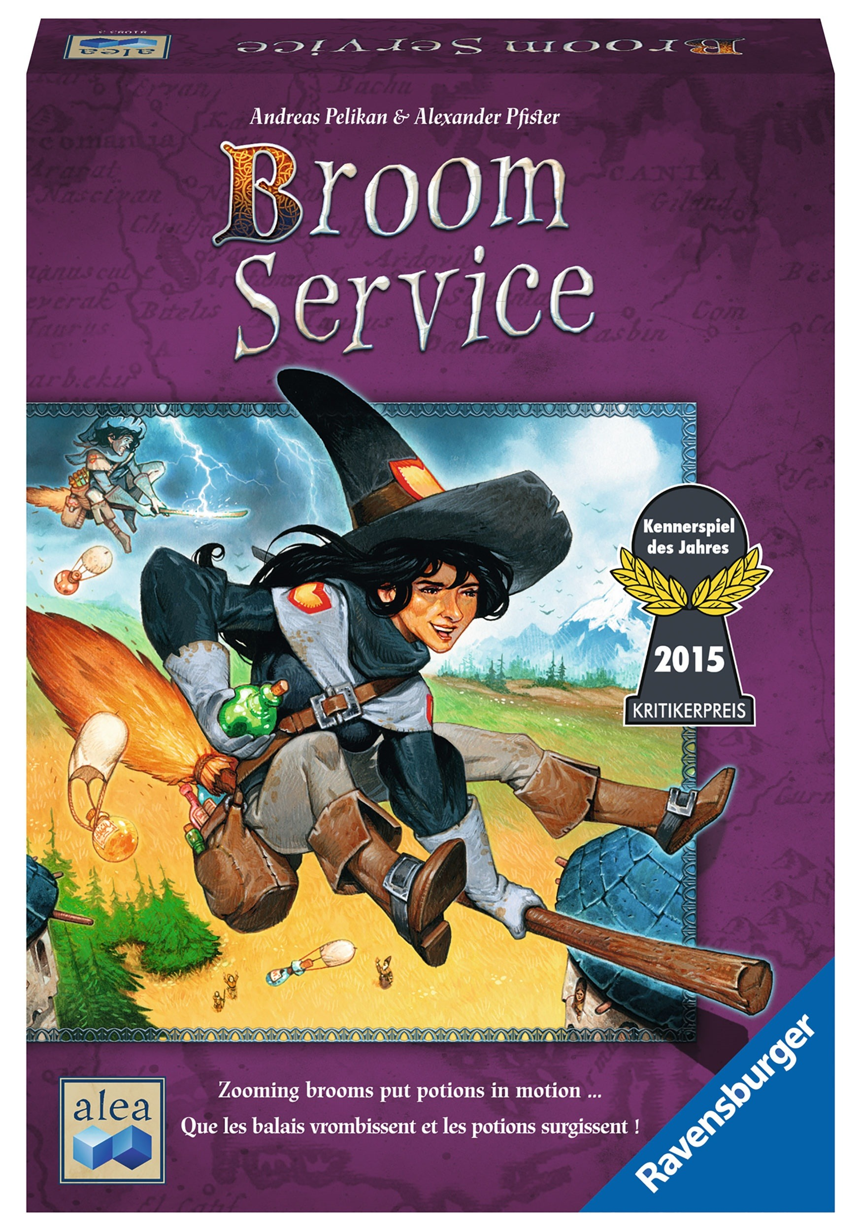 Ravensburger Broom Service Strategy Board Game for Ages 10+