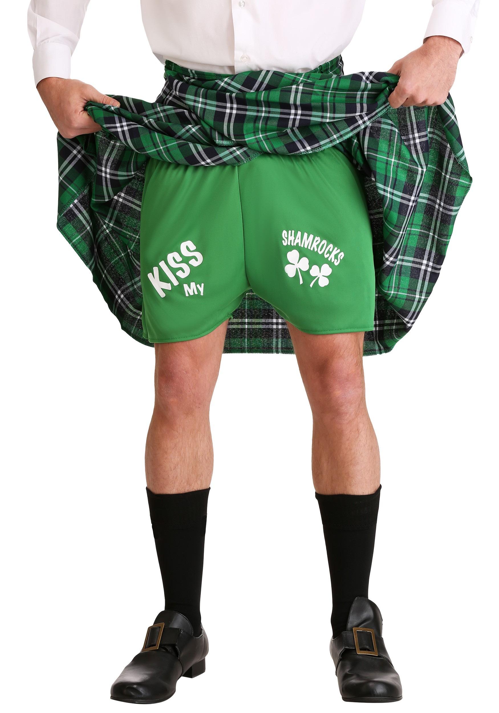 Naughty Kilt and Shorts Set