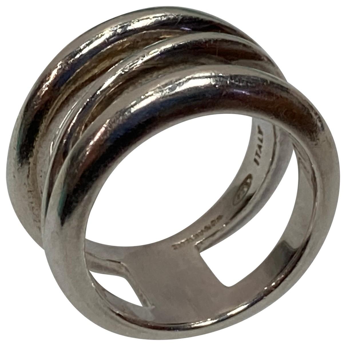 Tiffany & Co \N Silver Silver ring for Women 47 EU