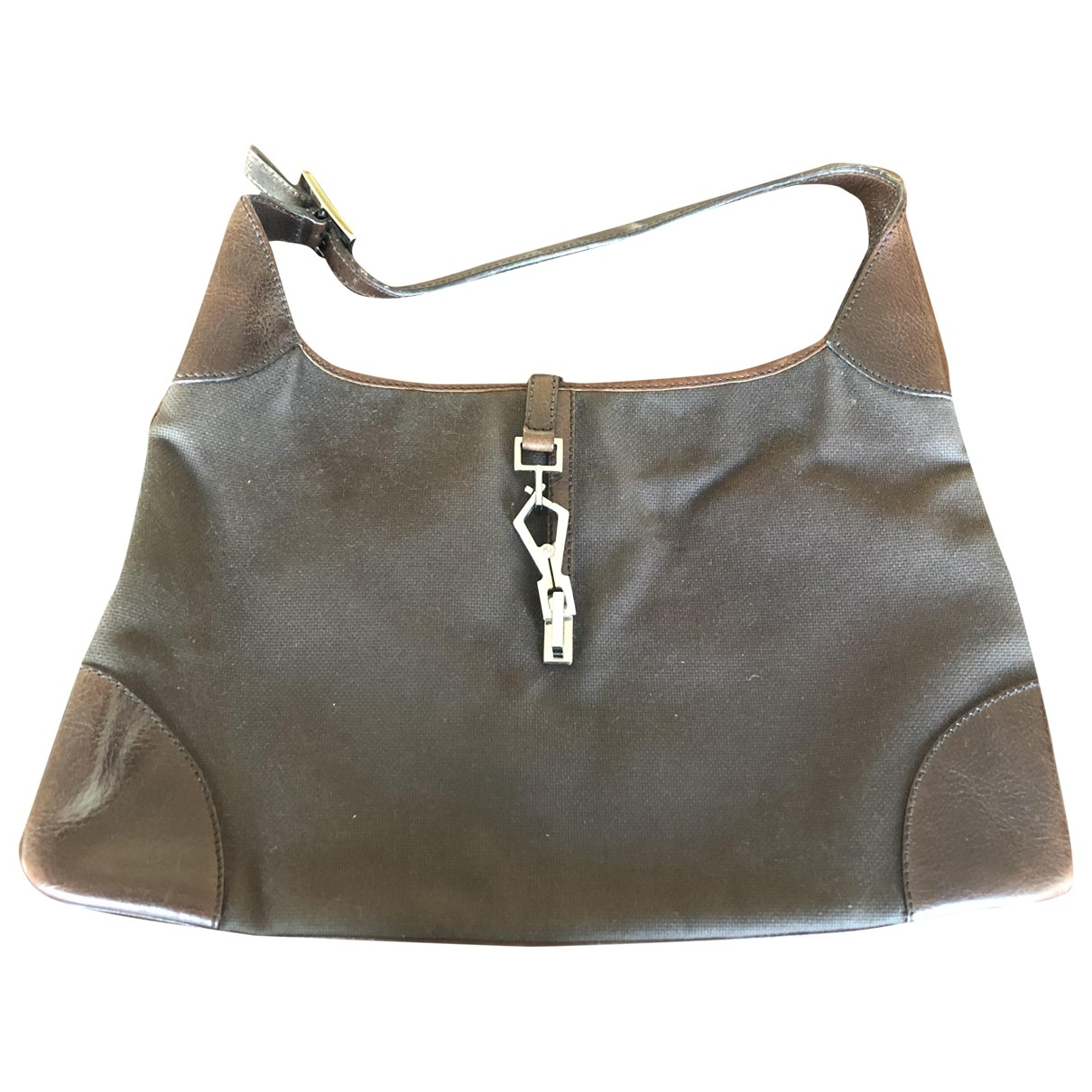 Gucci Jackie Vintage  Brown Cloth handbag for Women \N
