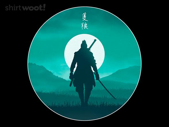 Warrior Silhouette T Shirt