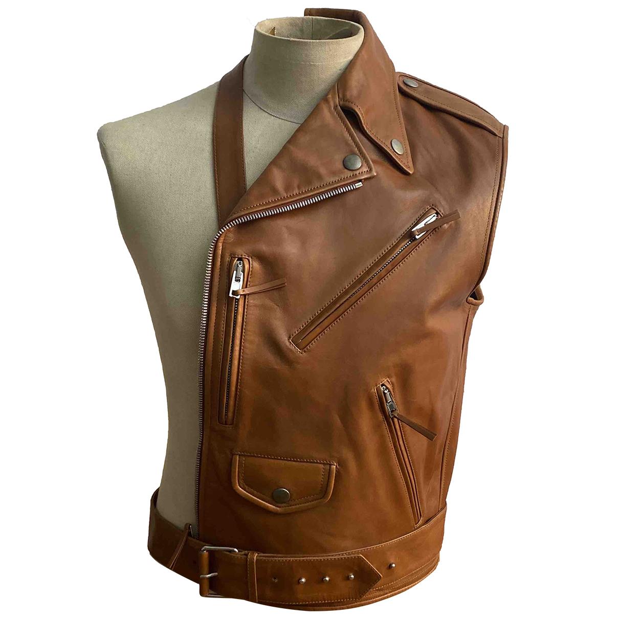 Jean Paul Gaultier \N Camel Leather jacket  for Men M International