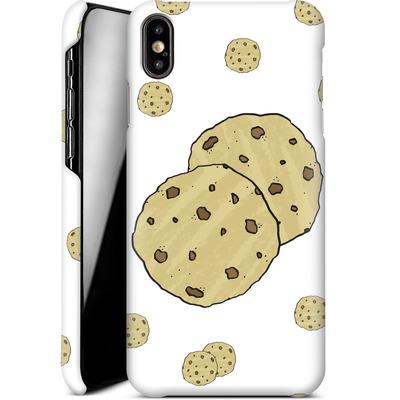 Apple iPhone XS Max Smartphone Huelle - Cookies von caseable Designs