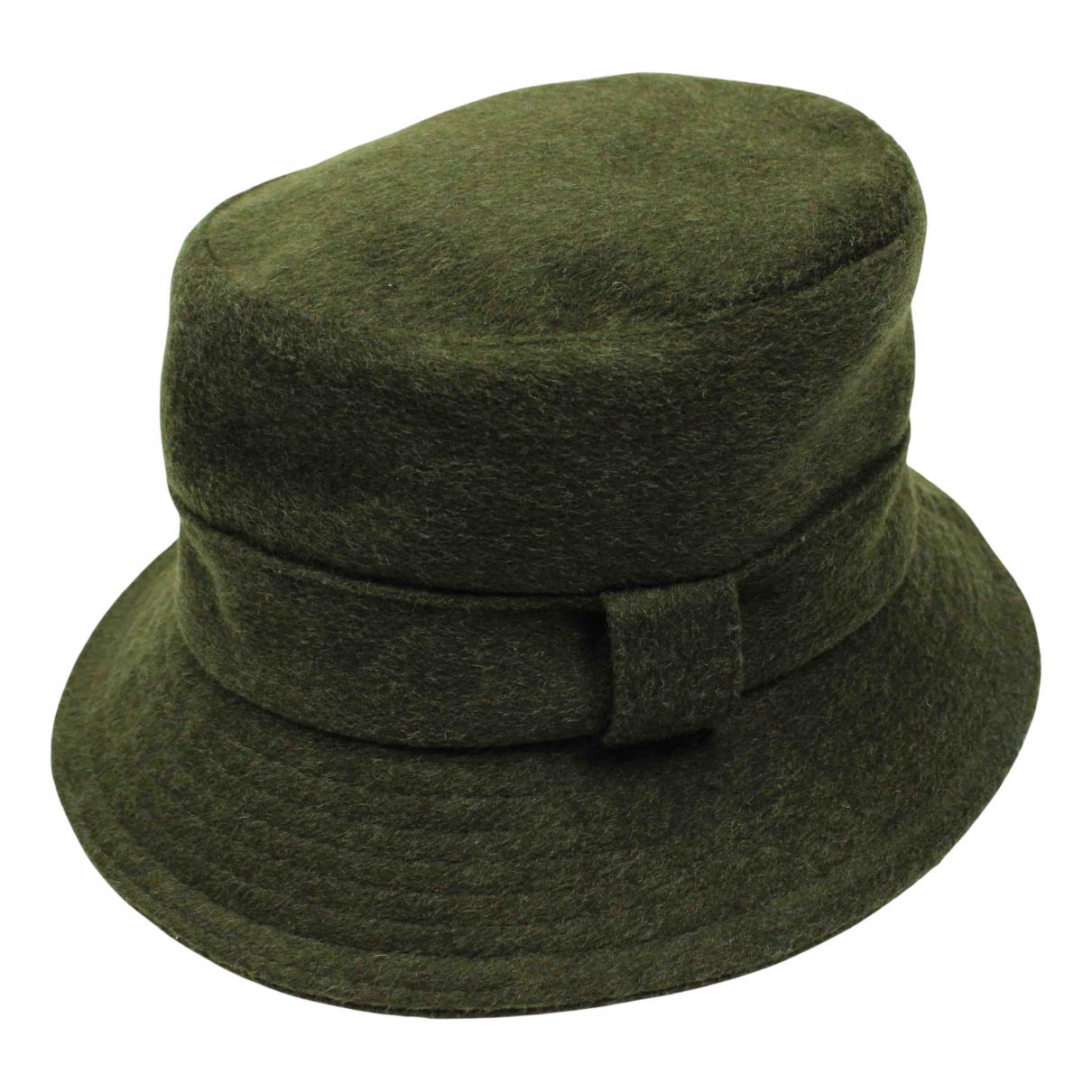 Barbour - Chapeau & Bonnets   pour homme en laine - vert