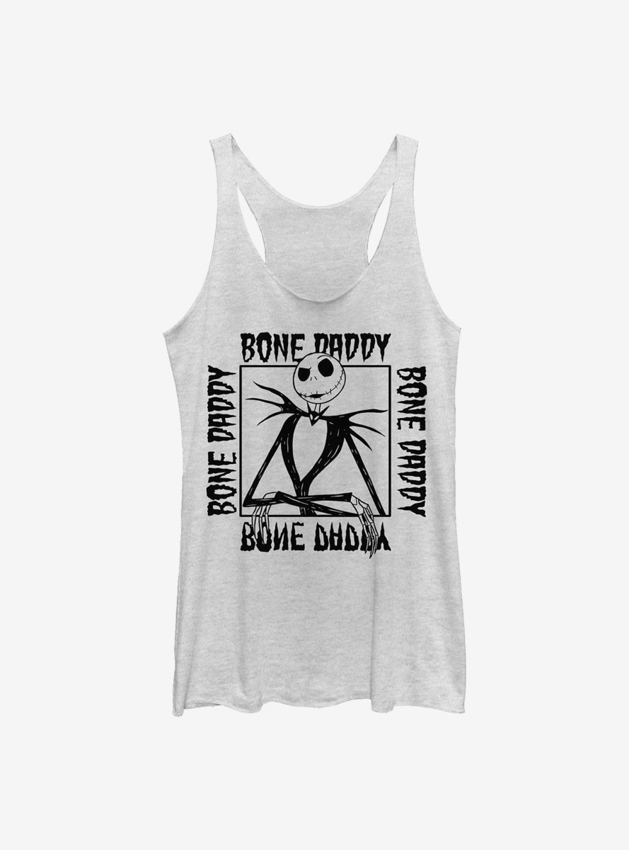 Disney The Nightmare Before Christmas Bone Daddy Womens Tank Top