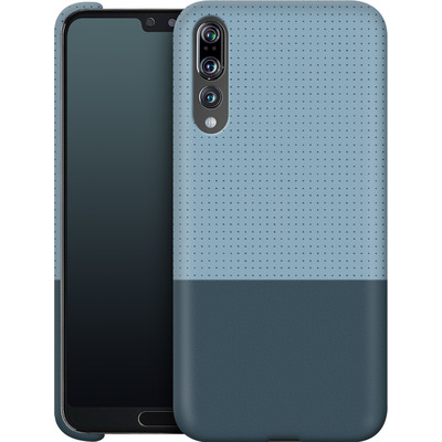 Huawei P20 Pro Smartphone Huelle - Dot Grid Blue von caseable Designs