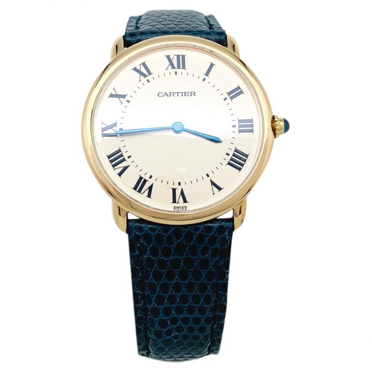 Cartier \N Yellow gold watch for Women \N