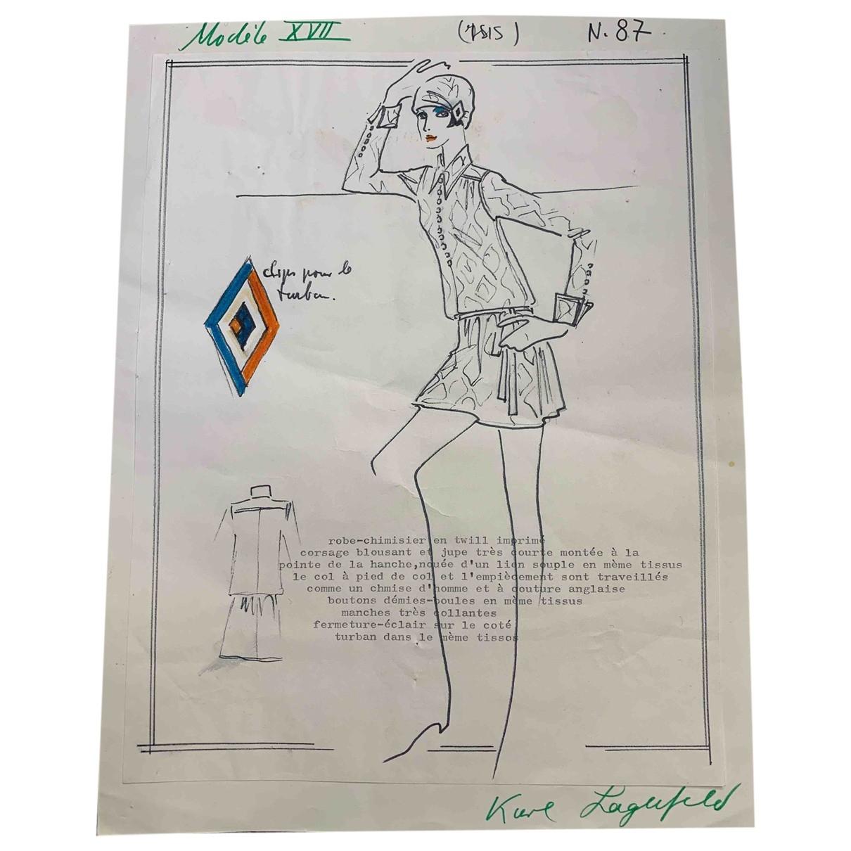 Karl Lagerfeld - Photographie   pour lifestyle en coton