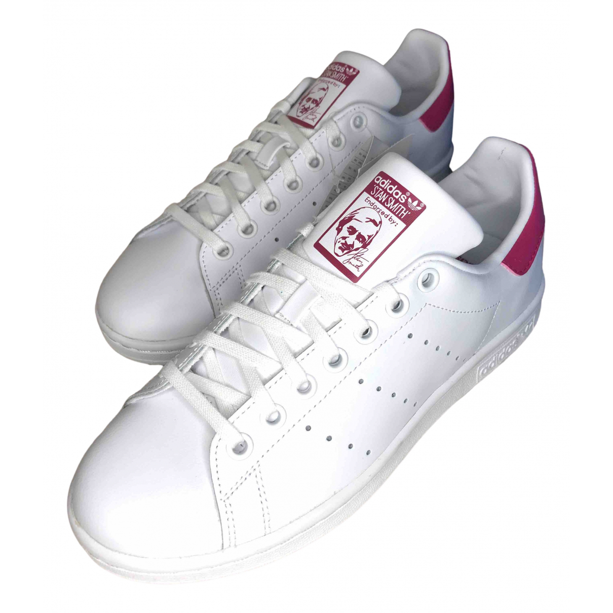 Adidas Stan Smith White Leather Trainers for Women 38 EU