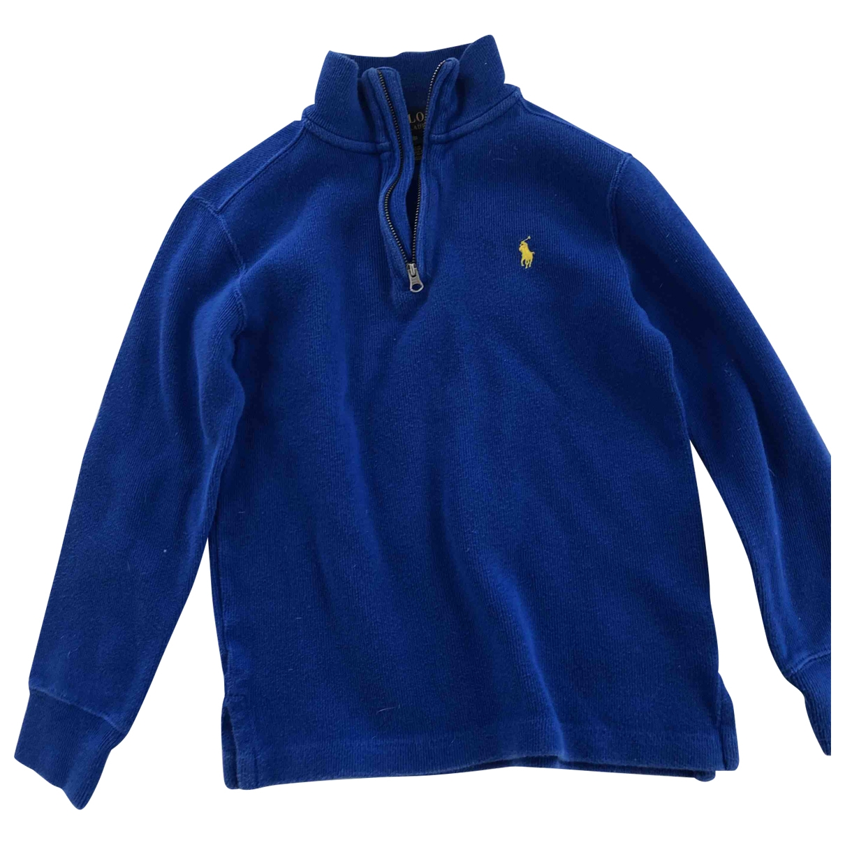 Polo Ralph Lauren \N Blue Cotton Knitwear for Kids 8 years - up to 128cm