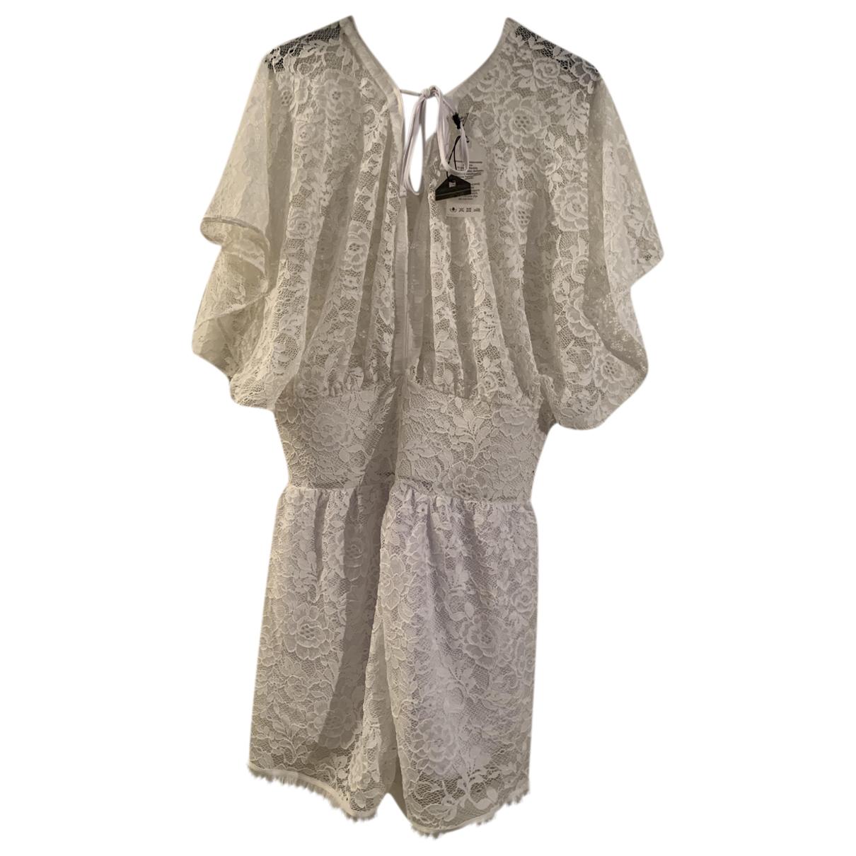Autre Marque N White Lace dress for Women L International