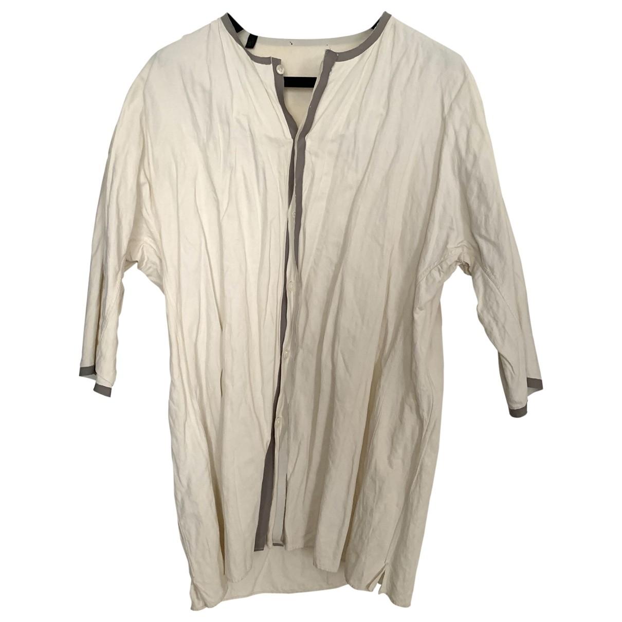 Lanvin - Chemises   pour homme en coton - ecru