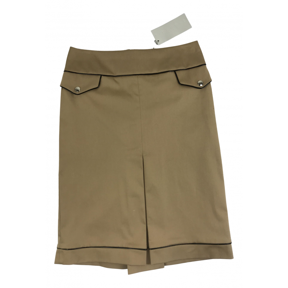 John Richmond - Jupe   pour femme en coton - marron