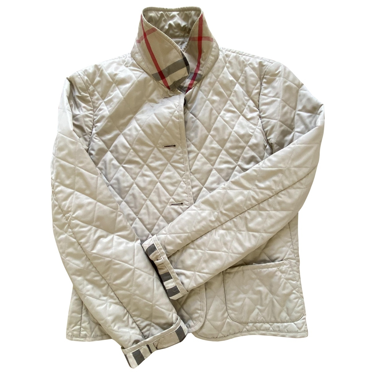 Burberry \N Beige jacket for Women L International