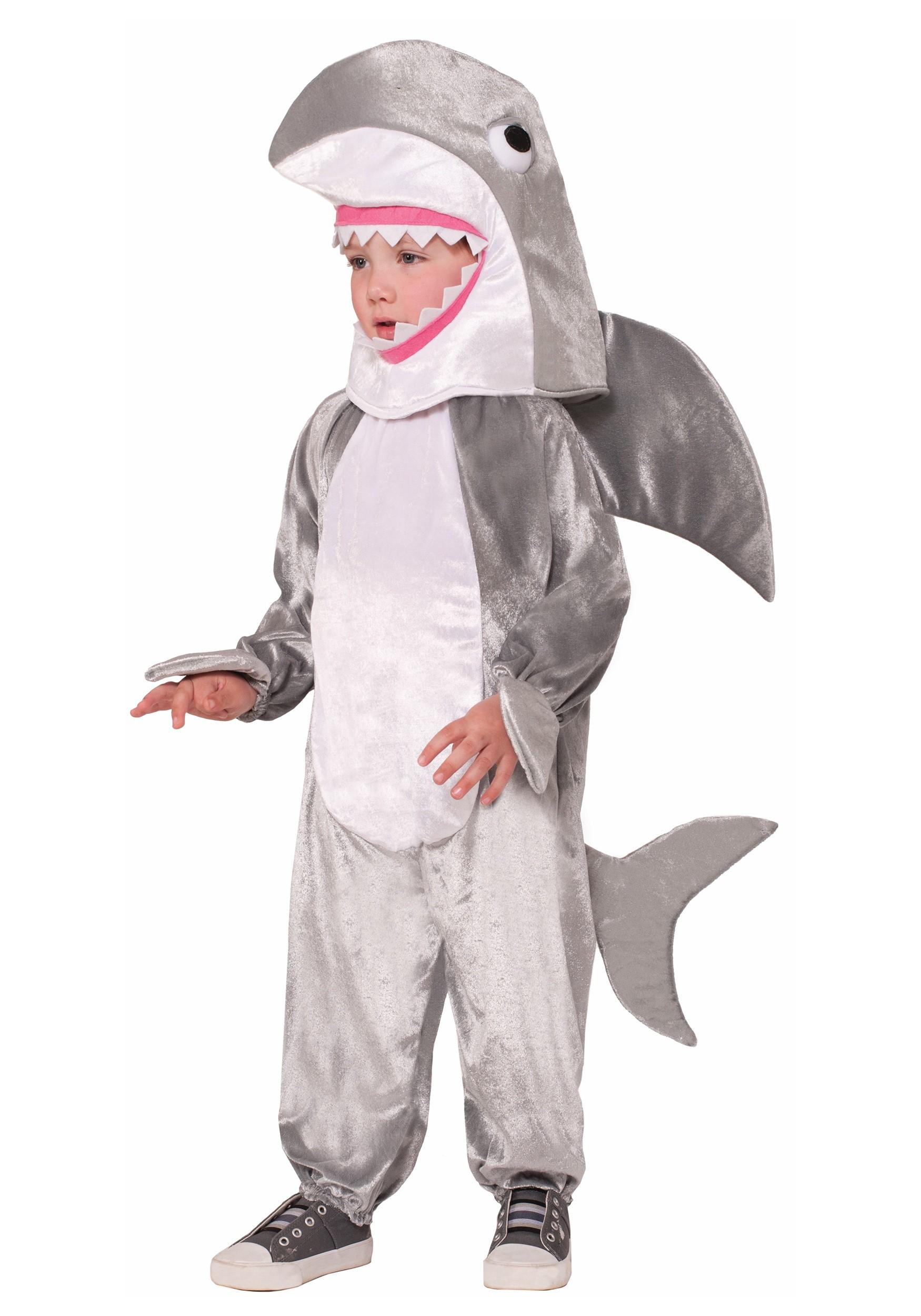 Great White Shark Child Costume