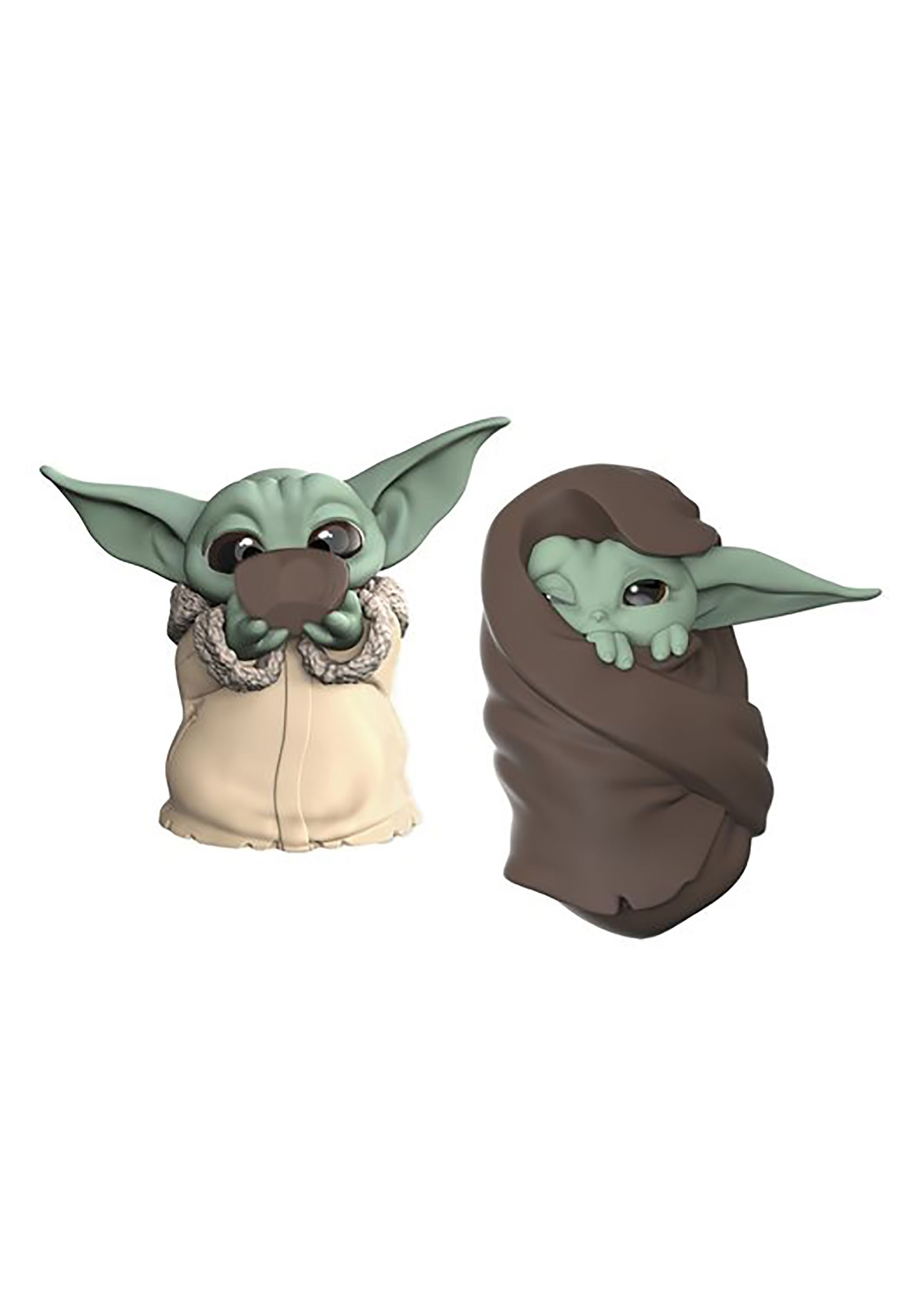 Star Wars The Mandalorian Baby Bounties Soup and Blanket Mini-Figures
