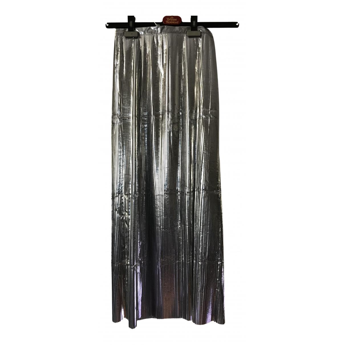 Maison Martin Margiela N Silver skirt for Women 38 IT
