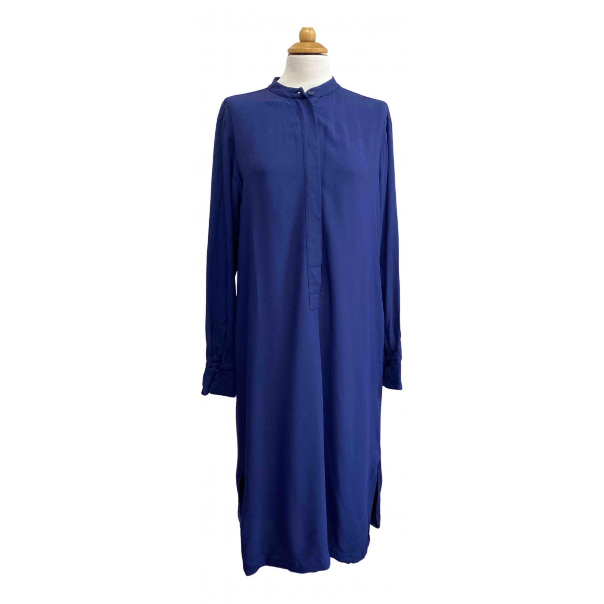 Max Mara Weekend \N Kleid in  Blau Synthetik
