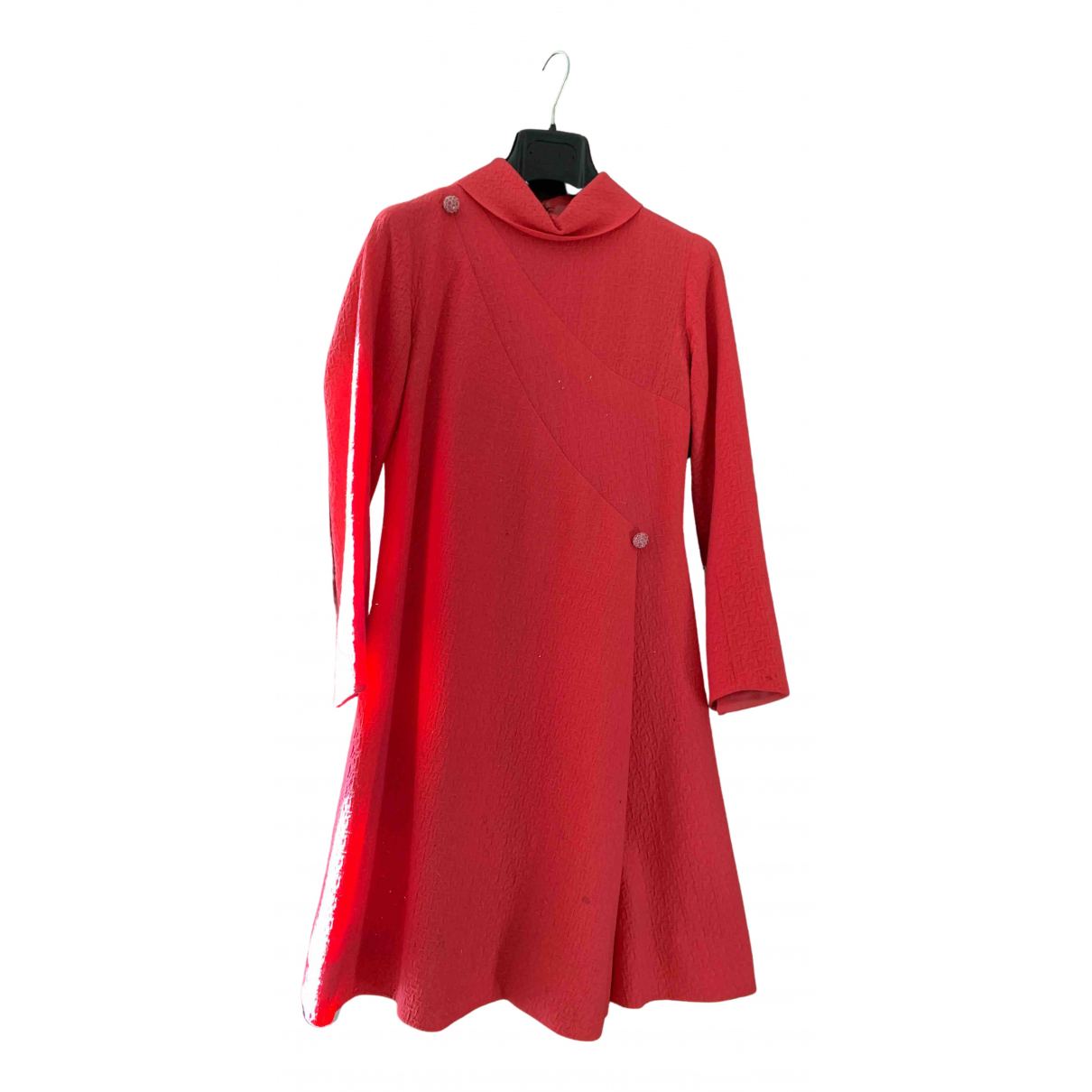 Non Signe / Unsigned \N Kleid in  Rosa Synthetik