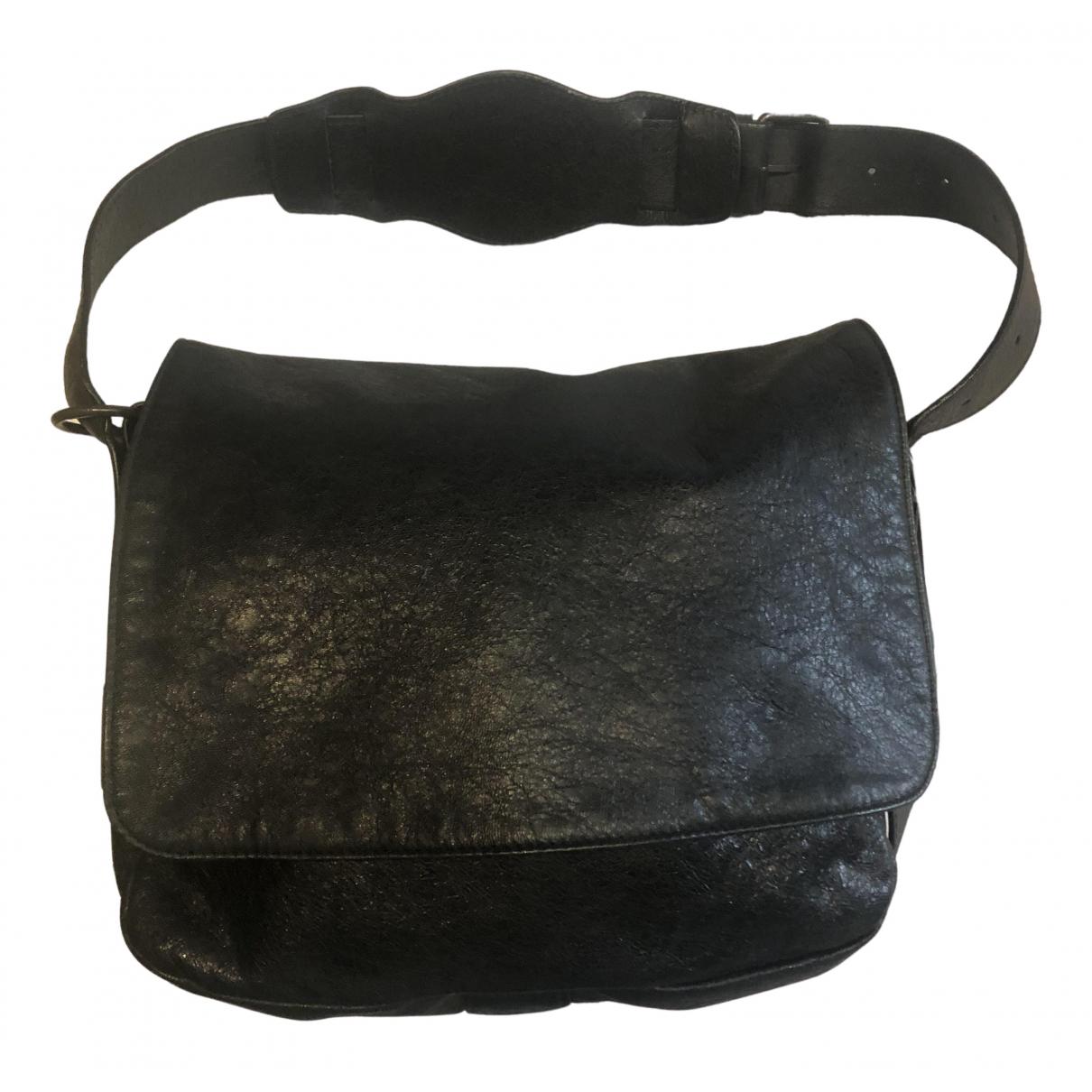 Balenciaga - Sac a main   pour femme en cuir - noir