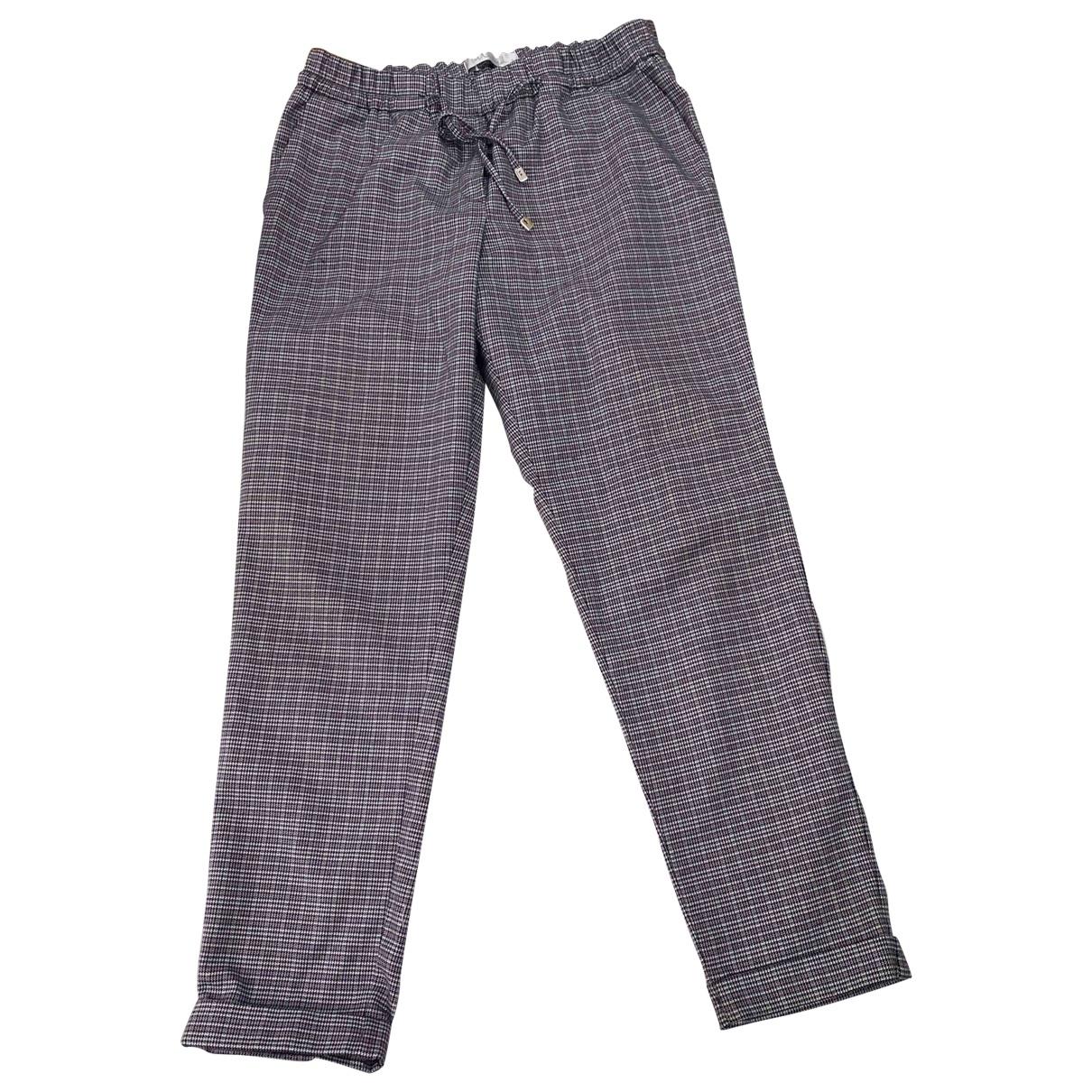 Intrend \N Wool Trousers for Women 46 IT