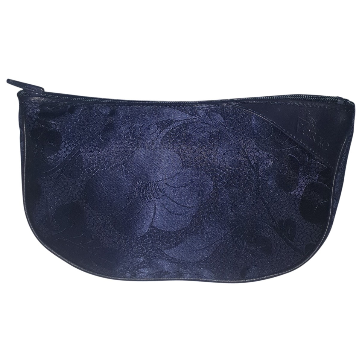 Gianni Versace \N Blue Cloth Clutch bag for Women \N