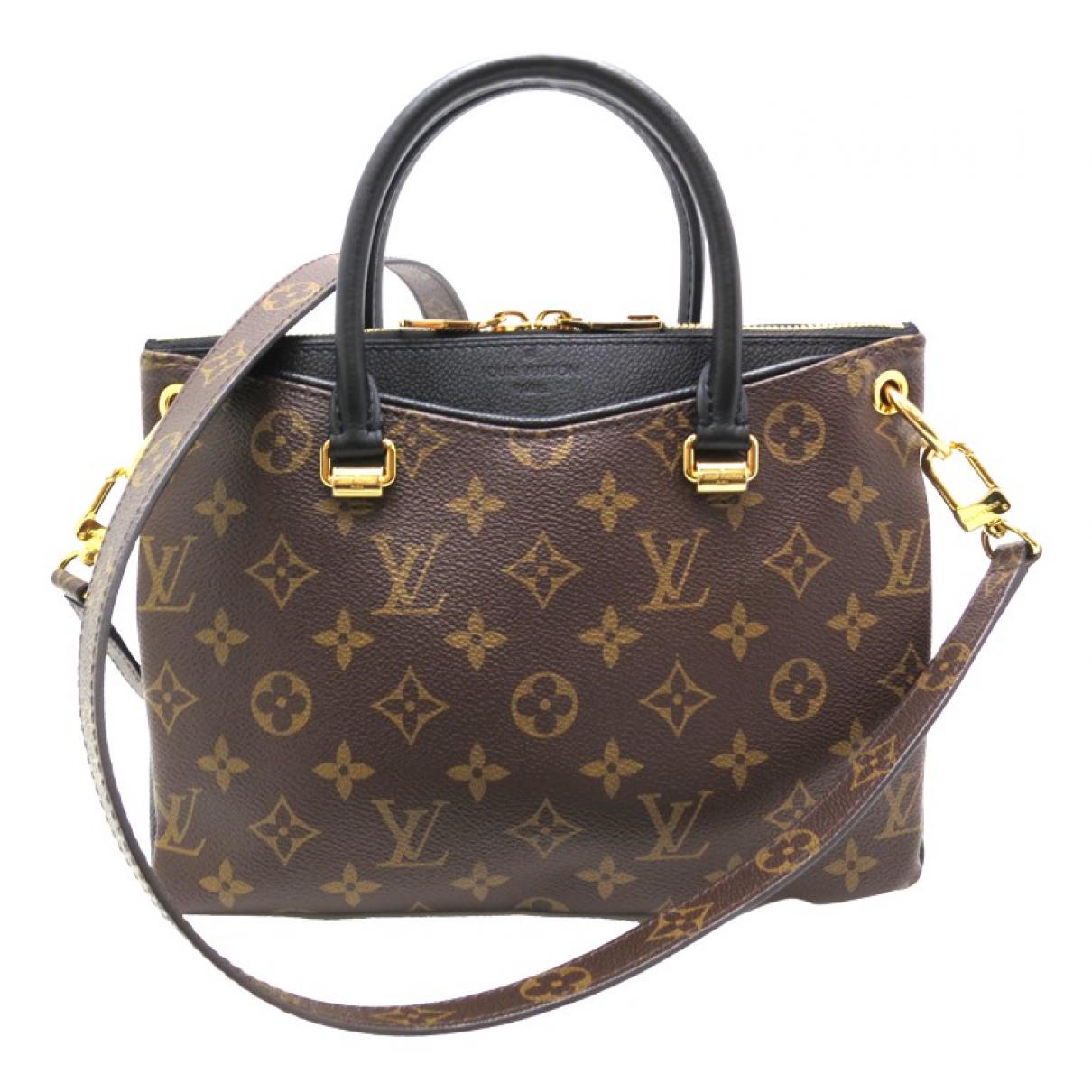 Louis Vuitton Pallas Brown Cloth handbag for Women N