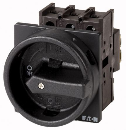 Eaton 3 Pole Flush Mount Non-Fused Switch Disconnector - 25 A Maximum Current, 13 kW Power Rating, IP65