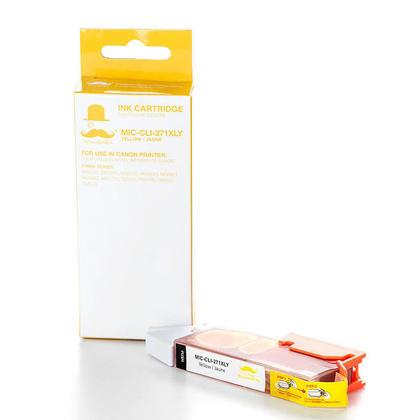 Canon CLI-271XL 0339C001 cartouche d'encre compatible jaune haute capacité - Moustache®