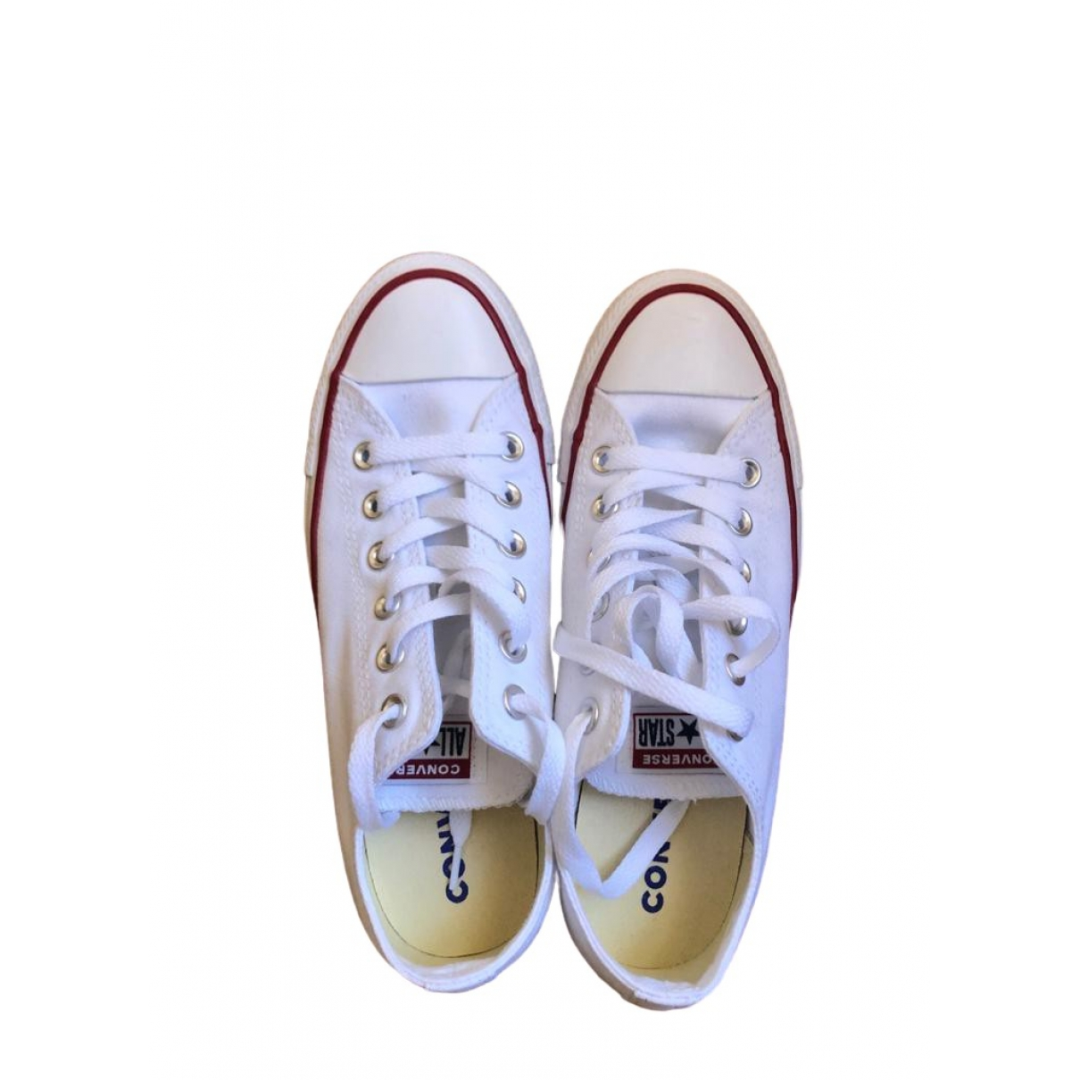 Converse \N Sneakers in  Weiss Kautschuk