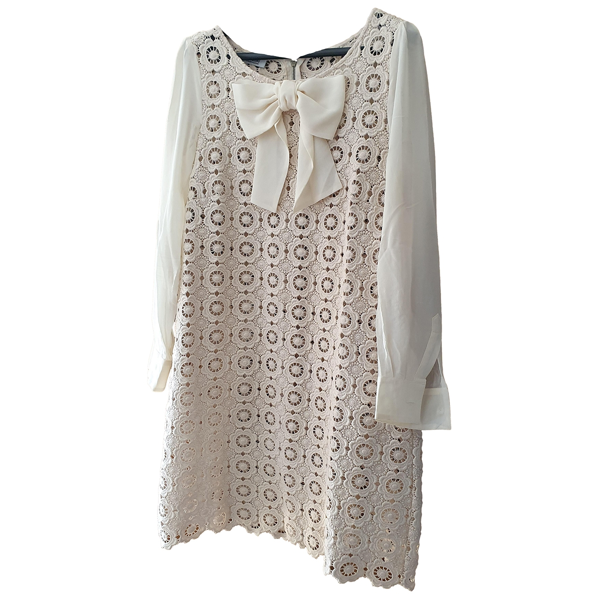 Moschino Cheap And Chic - Robe   pour femme en coton - beige
