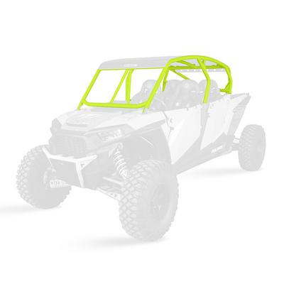 Pro Armor XP4 1000 Baja Cage System - Lime Squeeze - V Intrusion Bars - P144C025LSQ-630